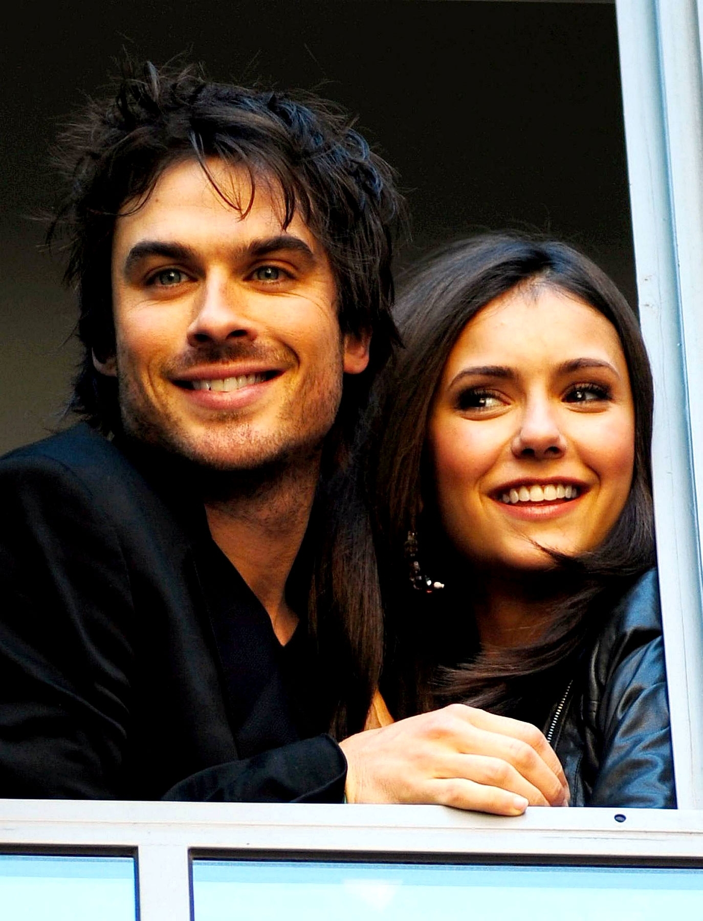 The vire diaries actors ian somerhalder nina dobrev london