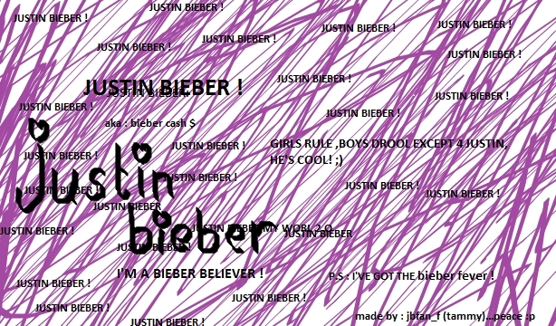 justin bieber fan signs. JUSTIN BIEBER (my art work) !