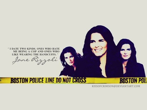 Rizzoli & Isles wallpaper entitled Jane Rizzoli