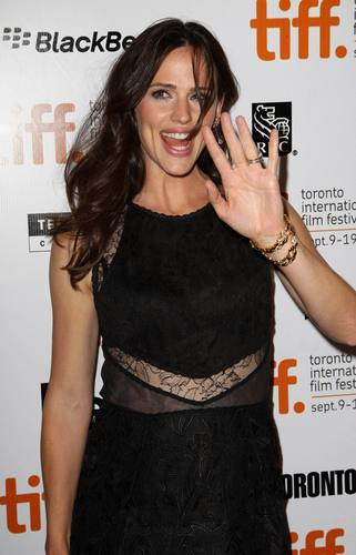 Jen At The Town Premiere At TIFF!