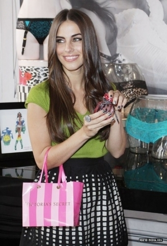 Jessica @ The Foundation of Fashion at Victoria's Secret Bombshell VIP Suite