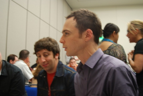 Jim Parsons and Simon Helberg Comic-Con 2010