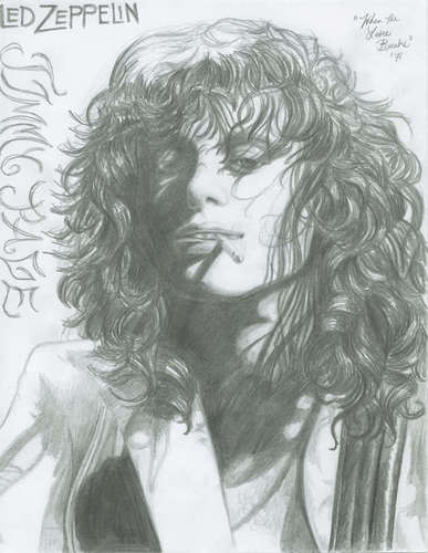 Led Zeppelin wallpaper titled Jimmy Page