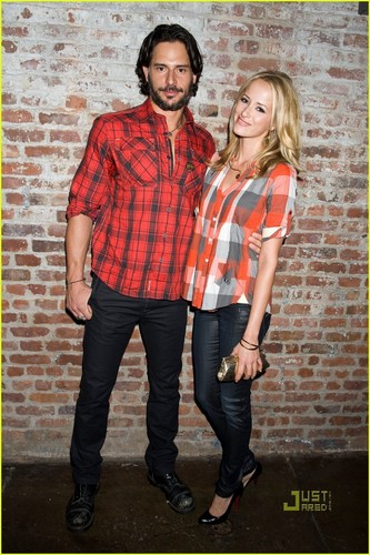 Joe Manganiello & GF Audra Marie @ Nintendo DSi Studio & G-Star fashion show - true-blood Photo