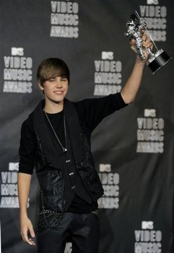 Justin Bieber at the vma