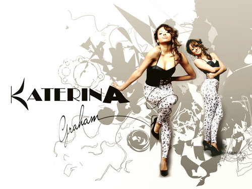 Katerina Graham wallpaper probably containing a sign entitled Katerina
