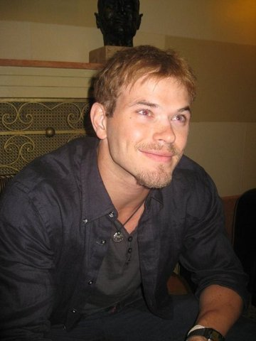 Kellan Lutz in Israel
