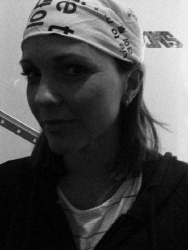Kelli looking Gangsta XD