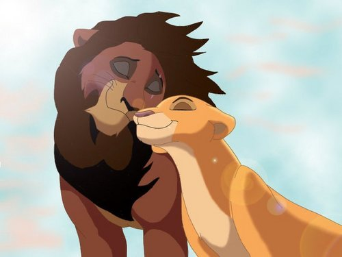 Kiara&Kovu - the-lion-king Fan Art