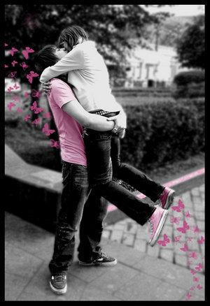 Kissing :*