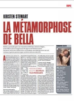 Kristen Stewart - Direct Soir