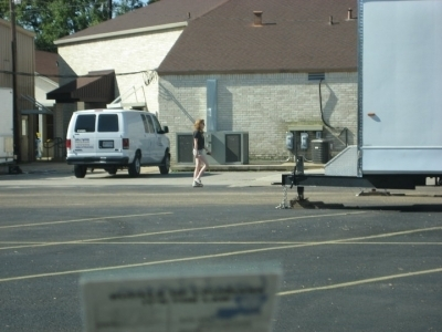 Kristen Stewart - On the Road - On set