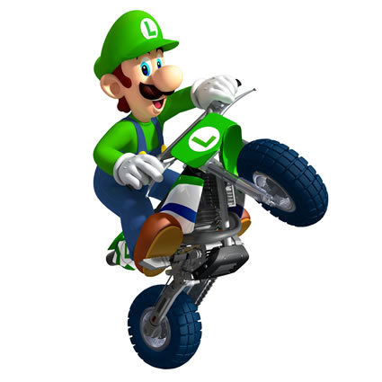 Luigi wallpaper probably with a tricycle entitled Luigi