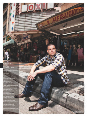 Mark Salling - Maxim Magazine bức ảnh Shoot