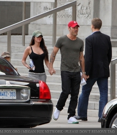 Megan & Brian out in Toronto