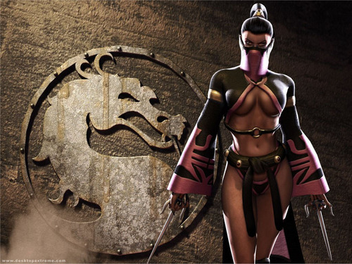 Mortal Kombat wallpaper possibly containing a surcoat, a shield, and a tabard entitled Mileena2