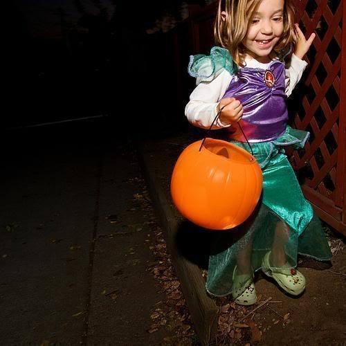Nessie on halloween