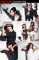 Nine muses behide the scene Elle foto