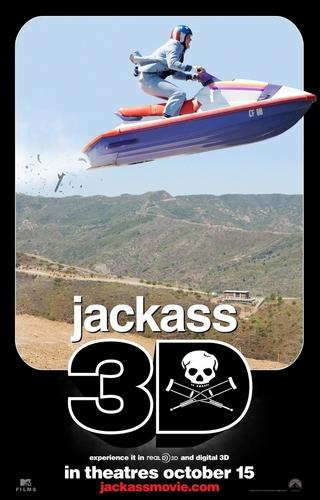 Official Jackass 3D Movie Poster