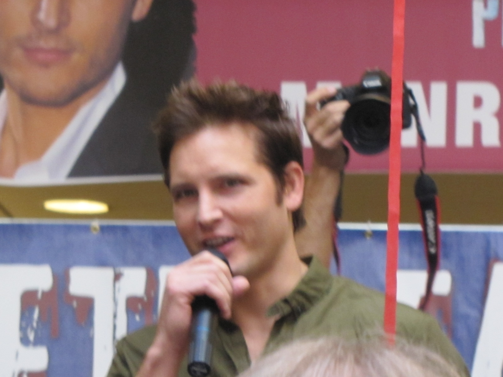 Peter Facinelli in Michigan