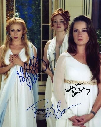 Piper, Phoebe and Paige in Role of Goddesses