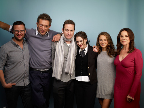 Posing for portraits during the 2010 TIFF in Guess Portrait Studio at Regency Hotel