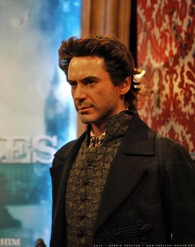 RDJ's Sherlock Holmes@Madame Tussauds
