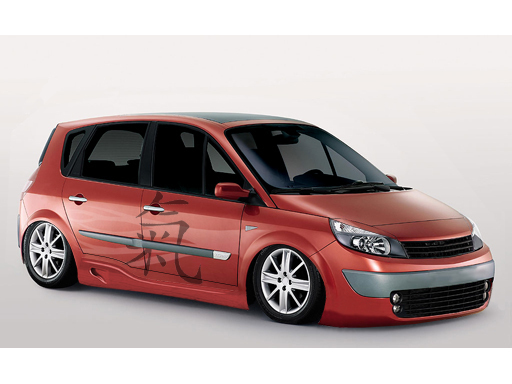 renault images renault scenic gt tuning wallpaper and background