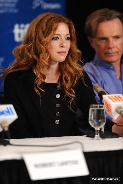 "Rachelle LeFreve @ ""Barney's Version"" Press Conference 12.09"