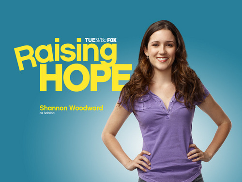 Raising Hope wallpaper possibly containing a coquetel dress entitled Raising Hope
