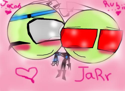Rubii And Jacob amor