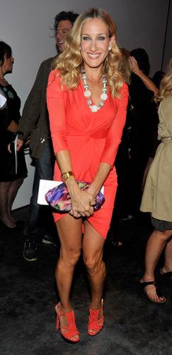 SJP @ Mercedes Benz Fashion Week: Halston - Spring 2011