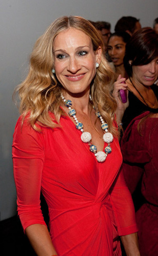 SJP @ Mercedes Benz Fashion Week: Halston - Spring 2011