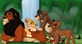 Scar and his kids