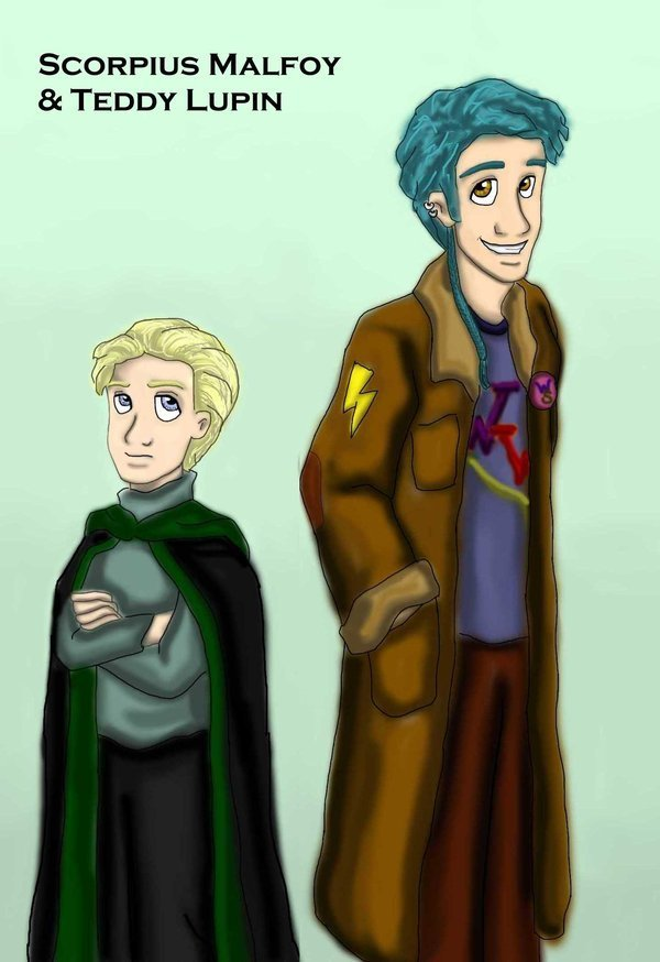 Scorpius Malfoy and Teddy Lupin - Harry Potter Photo (15557043 ...