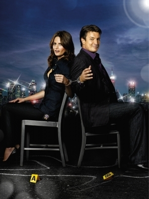 Castle wallpaper containing a well dressed person, a business suit, and a living room entitled Season 3 Promotional