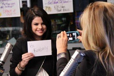 Selena Gomez on Air
