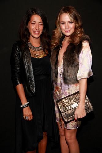 Shantel @ NY Fashion Week 2010