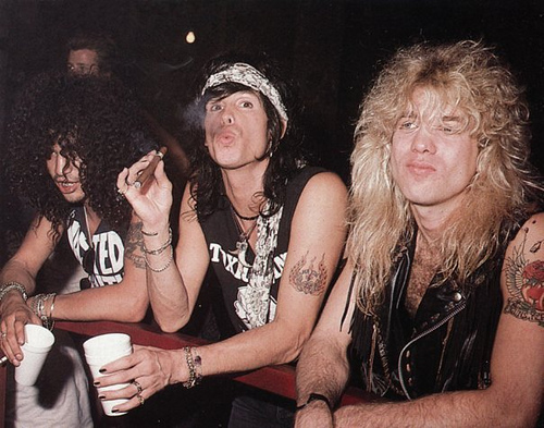 Slash,Steven Adler,Steven Tyler - slash Photo