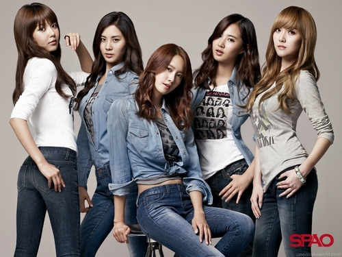 Snsd For Spao jeans