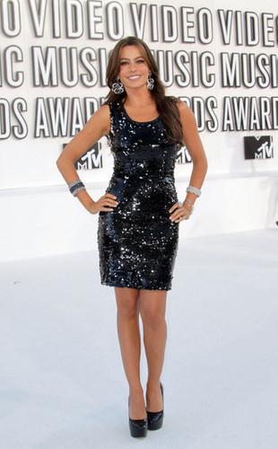 Sofia Vergara - 2010 音乐电视 Video 音乐 Awards - Arrivals