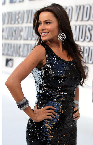 Sofia Vergara - 2010 mtv Video musik Awards - Arrivals