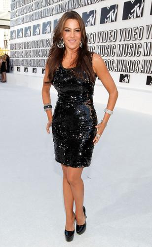 Sofia Vergara - 2010 MTV Video muziek Awards - Arrivals