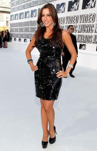 Sofia Vergara - 2010 엠티비 Video 음악 Awards - Arrivals