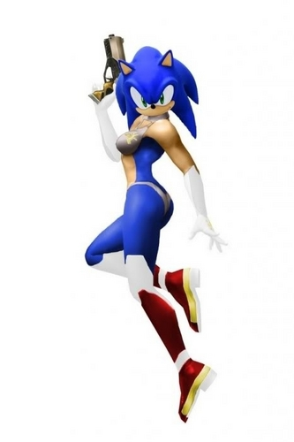 Sonic in a woman's body???