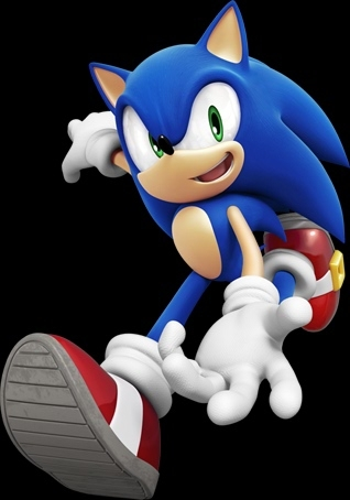 Sonic the Hedgehog - Sonic colores