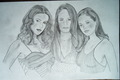 The Charmed Ones - holly-marie-combs fan art