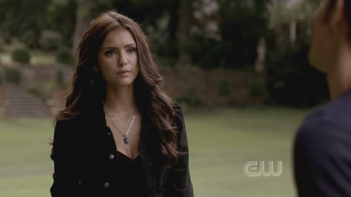 Katherine Pierce and Elena Gilbert wallpaper with a well dressed person and a portrait entitled The Return