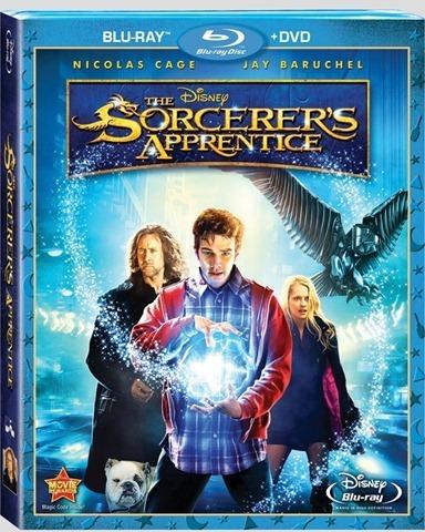 The Sorcerer's Apprentice Blu-ray artworks :)