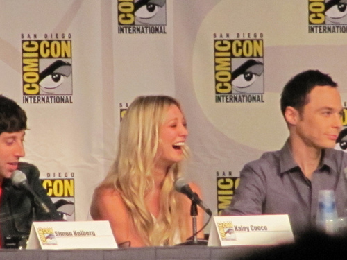 The big bang theory-Comic-Con 2010